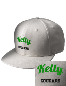 Kelly Middle School Cougars  Embroidered New Era Flat Bill Snapback Cap