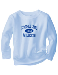 Lyme-Old Lyme Middle School Wildcats Toddler Crewneck Sweatshirt