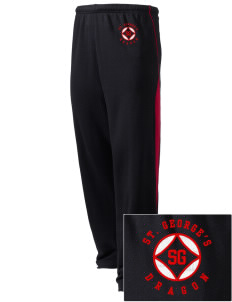 St. George's School Dragon Embroidered Holloway Men's Pivot Warm Up Pants