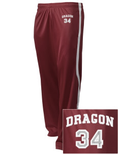 St. George's School Dragon Embroidered Holloway Men's Tricotex Warm Up Pants