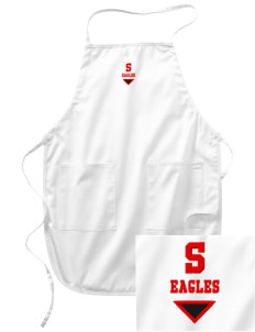 Smyrna Elementary School Eagles Embroidered Full Length Apron