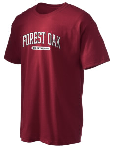 Forest Oak Elementary School Panthers Hanes Men's 6 oz Tagless T-shirt