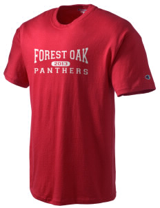 Forest Oak Elementary School Panthers Champion Men's Tagless T-Shirt