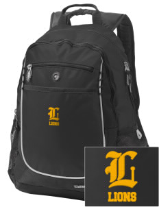 McCullough Elementary School Lions Embroidered OGIO Carbon Backpack