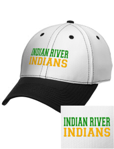 Indian River High School Indians Embroidered New Era Snapback Performance Mesh Contrast Bill Cap