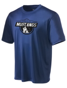 Lisbon Elementary School Mustangs Champion Men's Wicking T-Shirt