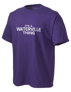 Waterville Junior High School Pumas Men's Lightweight T-Shirt