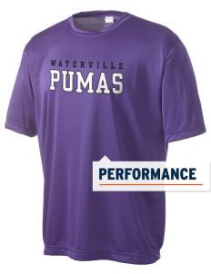 Waterville Junior High School Pumas Men's Competitor Performance T-Shirt