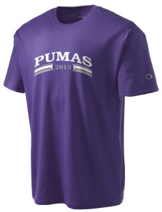 Waterville Junior High School Pumas Champion Men's Tagless T-Shirt