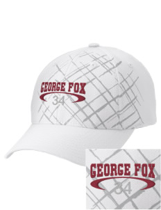 George Fox Middle School Foxes Embroidered Mixed Media Cap