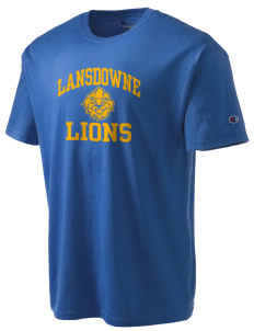 Lansdowne Middle School Lions Champion Men's Tagless T-Shirt