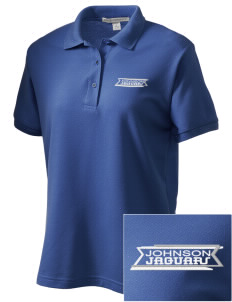 Johnson Elementary School Jaguars Women's Embroidered Silk Touch Polo