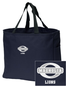 Magnolia Elementary School Lions Embroidered Essential Tote