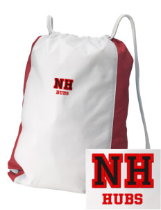 North Hagerstown High School Hubs Embroidered Holloway Home and Away Cinch Bag