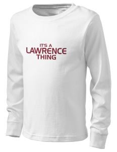 Lawrence School Bulldogs  Kid's Long Sleeve T-Shirt