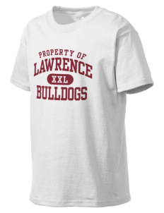 Lawrence School Bulldogs Kid's Lightweight T-Shirt