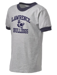 Lawrence School Bulldogs Kid's Ringer T-Shirt