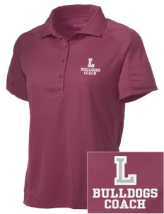 Lawrence School Bulldogs Embroidered Women's Polytech Mesh Insert Polo