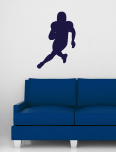 "Friedman Middle School Falcons Wall Silhouette Decal 20"" x 32"""