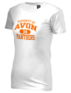 Avon Middle High School Panthers Alternative Women's Basic Crew T-Shirt