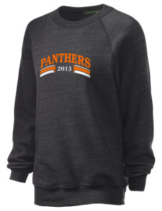 Avon Middle High School Panthers Unisex Alternative Eco-Fleece Raglan Sweatshirt