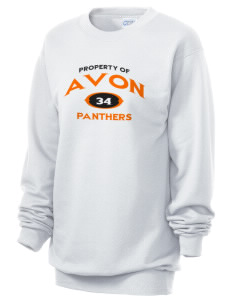 Avon Middle High School Panthers Unisex 7.8 oz Lightweight Crewneck Sweatshirt