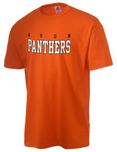 Avon Middle High School Panthers  Russell Men's NuBlend T-Shirt
