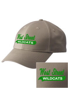 West Street Elementary School Wildcats  Embroidered New Era Adjustable Structured Cap