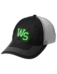 West Street Elementary School Wildcats Embroidered Mesh Back Cap