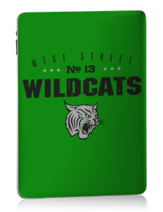 West Street Elementary School Wildcats Apple iPad Skin