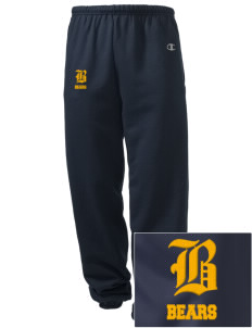 Bret Harte Elementary School Bears Embroidered Champion Men's Sweatpants