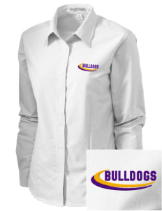 Southwest Community Campus Bulldogs Embroidered Women's Classic Oxford