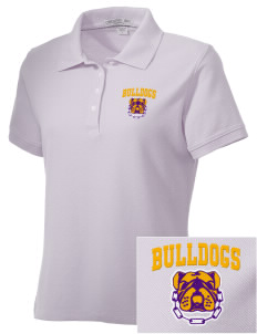 Southwest Community Campus Bulldogs Embroidered Women's Performance Plus Pique Polo