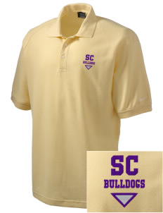 Southwest Community Campus Bulldogs Embroidered Nike Men's Pique Knit Golf Polo