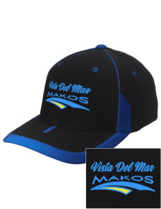 Vista del Mar School Makos Embroidered M2 Universal Fitted Contrast Cap