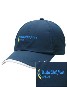 Vista del Mar School Makos Embroidered Nike Dri-FIT Swoosh Perforated Cap