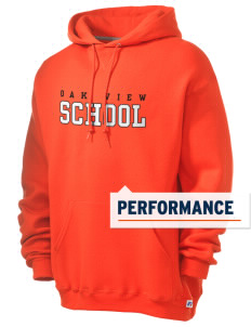 Oak View School Russell Men's Dri-Power Hooded Sweatshirt