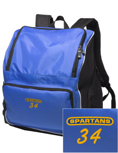 Mason County Central High School Spartans Embroidered Holloway Backpack