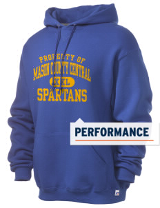 Mason County Central High School Spartans Russell Men's Dri-Power Hooded Sweatshirt