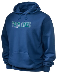 Twin Oaks High School Tiger Holloway Men's 50/50 Hooded Sweatshirt
