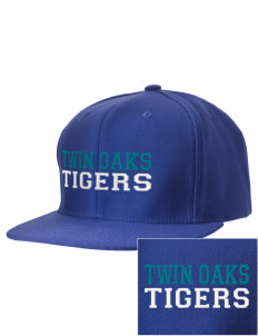 Twin Oaks High School Tiger Embroidered D-Series Cap