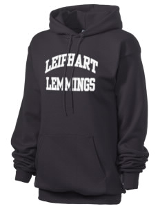 Leiphart Alternative High School Lemmings Unisex 7.8 oz Lightweight Hooded Sweatshirt