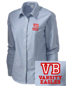 Valley Baptist Academy Eagles Embroidered Women's Classic Oxford