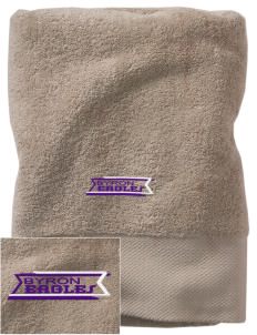Byron Elementary School Eagles Embroidered Zero Twist Resort Towel