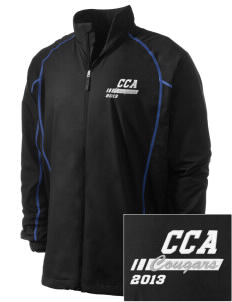 Calvary Christian Academy Cougars Embroidered Men's Nike Golf Full Zip Wind Jacket