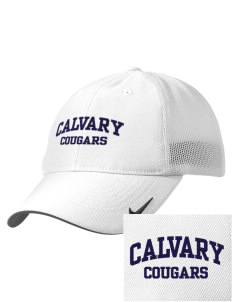 Calvary Christian Academy Cougars Embroidered Nike Golf Mesh Back Cap