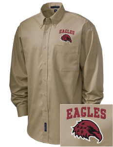 Lake Arrowhead Christian School Eagles Embroidered Men's Easy-Care Shirt