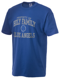 Holy Family Catholic School Blue Angels  Russell Men's NuBlend T-Shirt