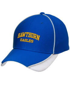 Hawthorn Eagles Embroidered New Era Contrast Piped Performance Cap