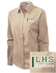 Lutheran High School Panthers Embroidered Women's Easy-Care Shirt